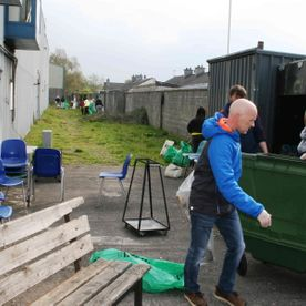 CLEAN UP@CYT Carlow Youth Training